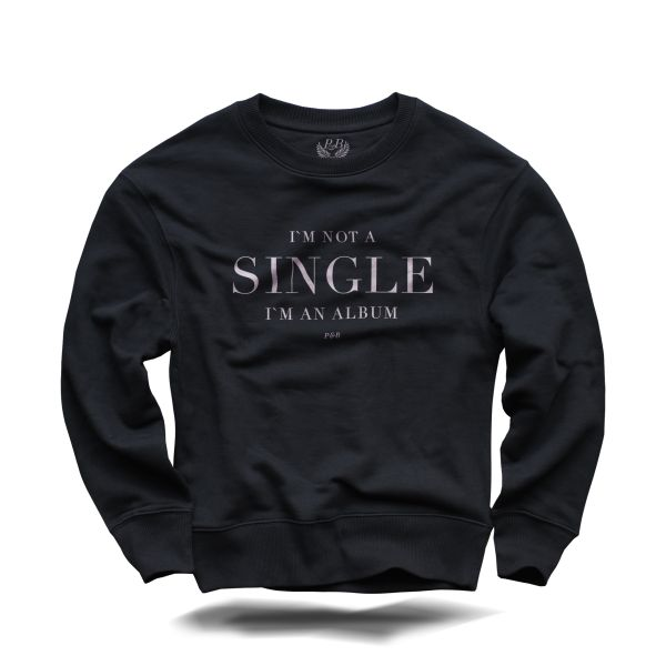 I'm not a Single Sweater Black