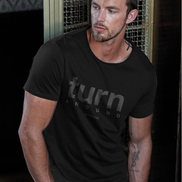 Turn Around Men´s Tee black