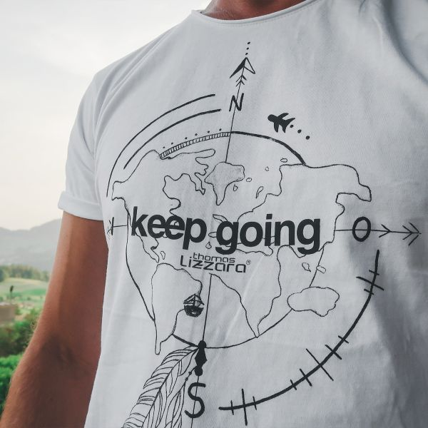 keep going - Man Lizzara