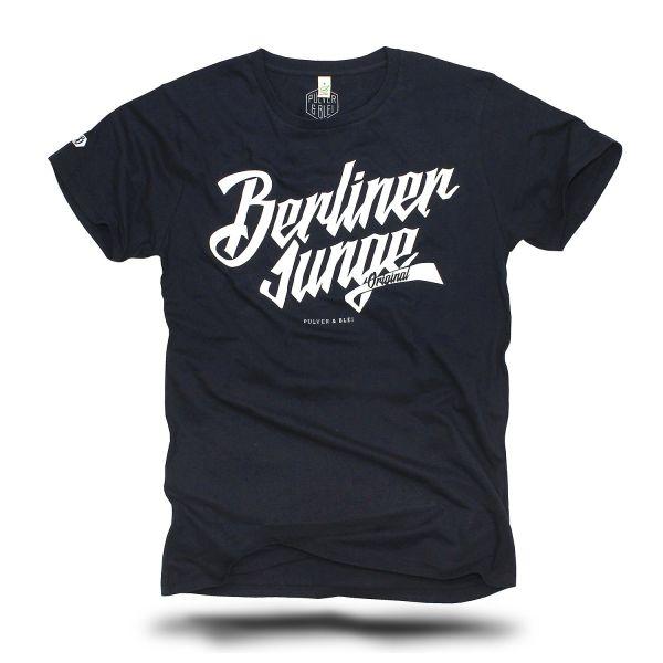Berliner Junge T-Shirt navy