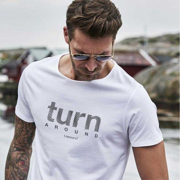 Turn Around Men's Tee white