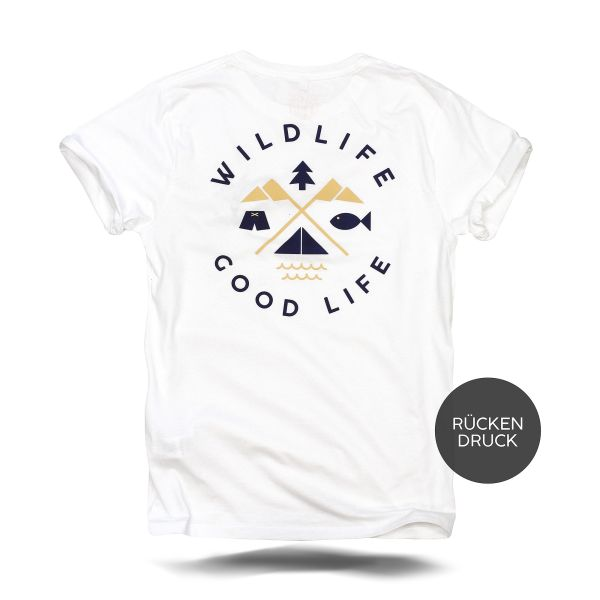 Wildlife Good Life Camping T-Shirt