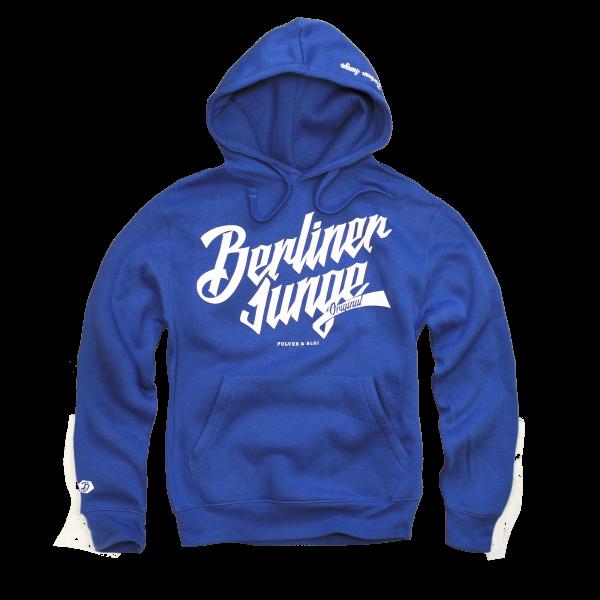 Berliner Junge Hoodie Blau