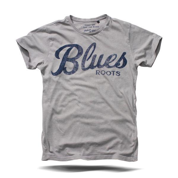 Blues Roots Light grey