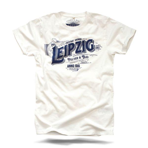 Leipzig Sachsen T-Shirt Pulver und Blei