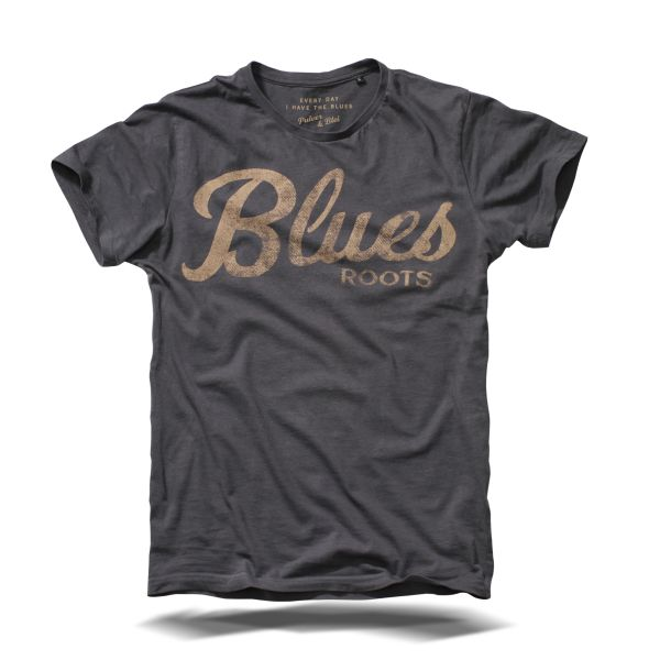 Blues Roots Dark grey