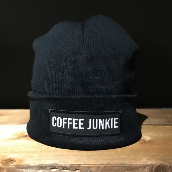 Coffee Junkie Strickmütze